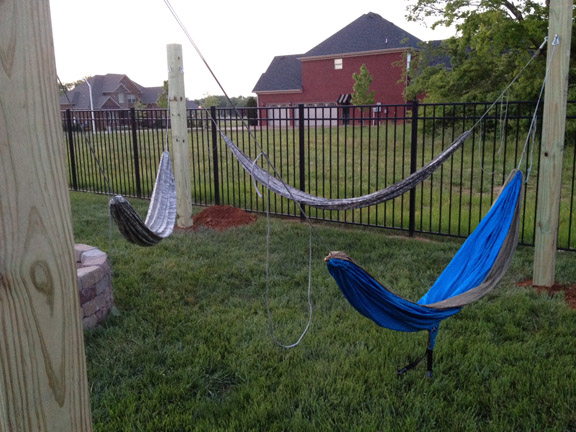 Permanent posts for hammock - Page 2